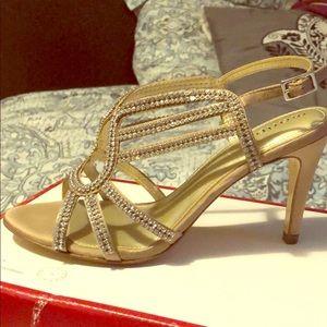 Maripe high heels (gold)